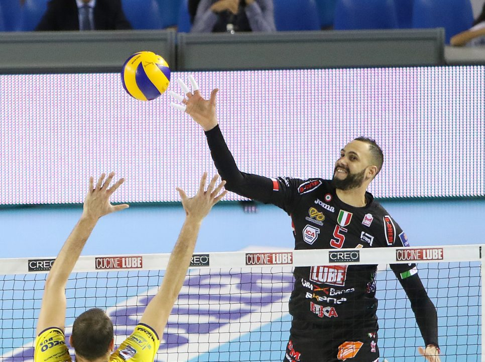 Osmany Juantorena wins second Italian SuperLega MVP