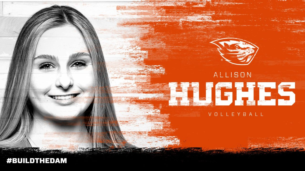 Oregon State Garners 3rd Transfer in Former SMU Setter Allison Hughes