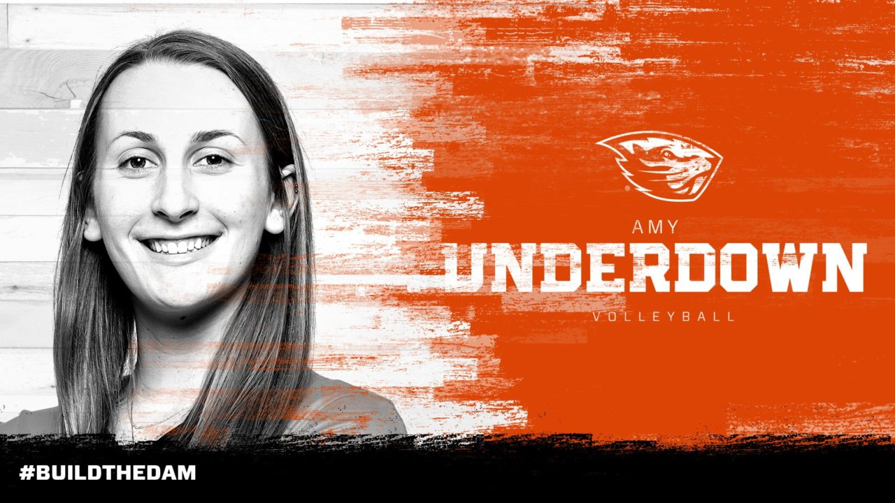 2017 CAA First-Team OH Amy Underdown Transfers From Northeastern to Oregon State
