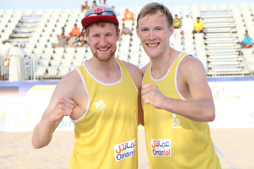 Germans Bergmann/Harms Earn First FIVB Tour Title, Taking Gold in Oman