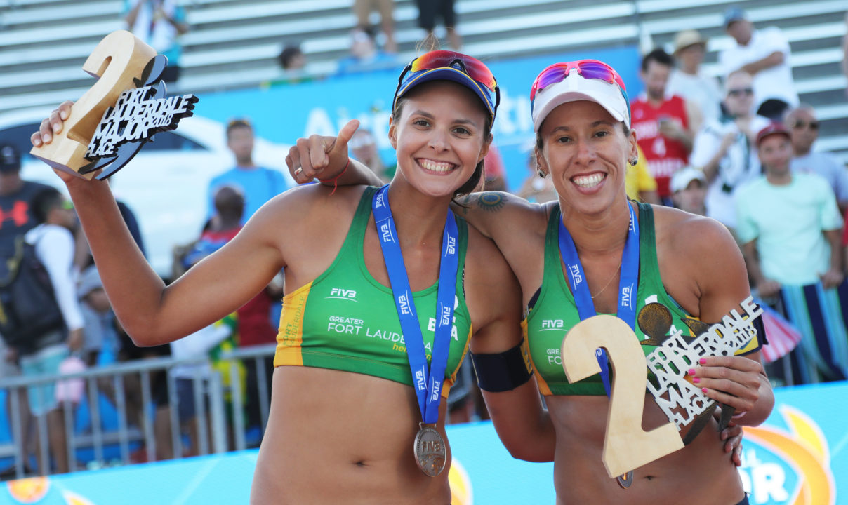 Brazilian's Taiana Lima/Carol Horta Remain Pair After Fort Lauderdale