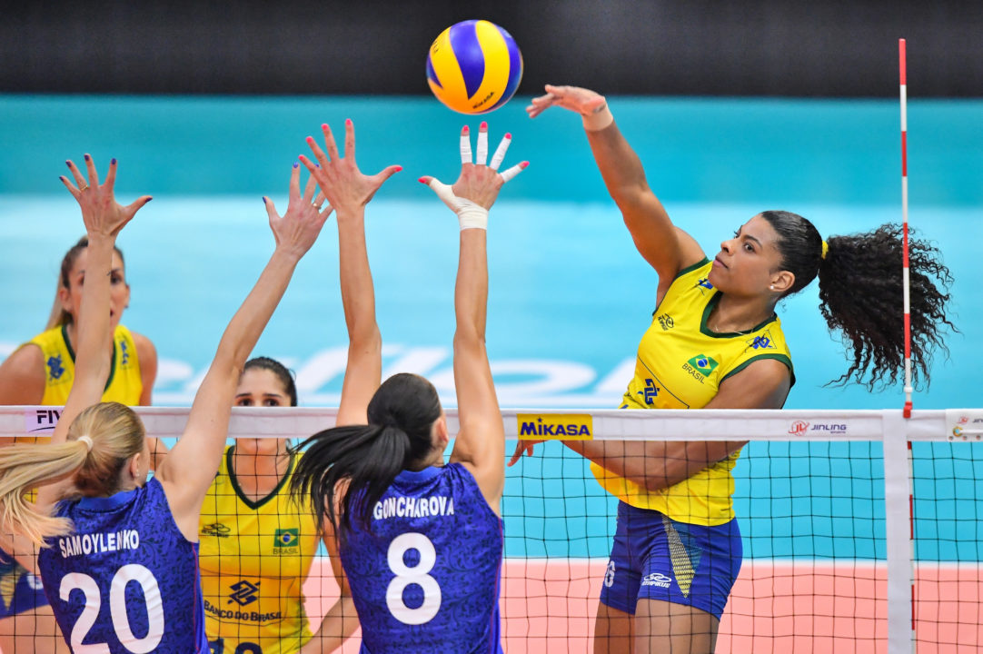 Brazilian Women's Team Arrives In Japan For WCH