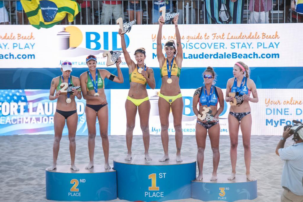 Barbara/Fernada Win Gold in All-Brazilian Final at #FTLMajor