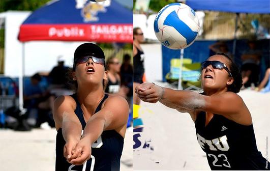 VolleyMob Beach Pair of the Week: Frasca/Bianchin, FIU