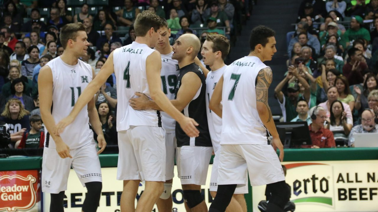 Hawaii Makes a Push to the Top 5; VolleyMob Men's Top 20 Power Rankings (Week 15)