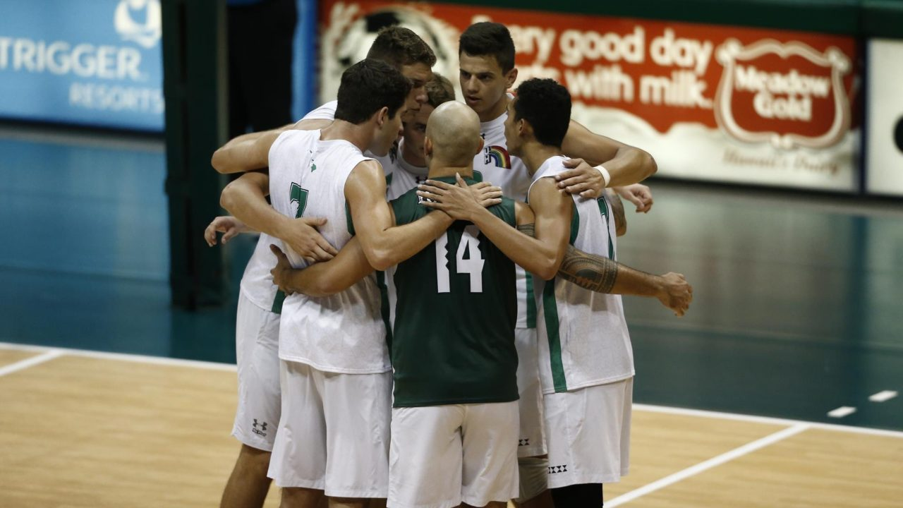 #2 Hawaii's Powerful Serve, Offense Leads to Sweep of #8 Lewis