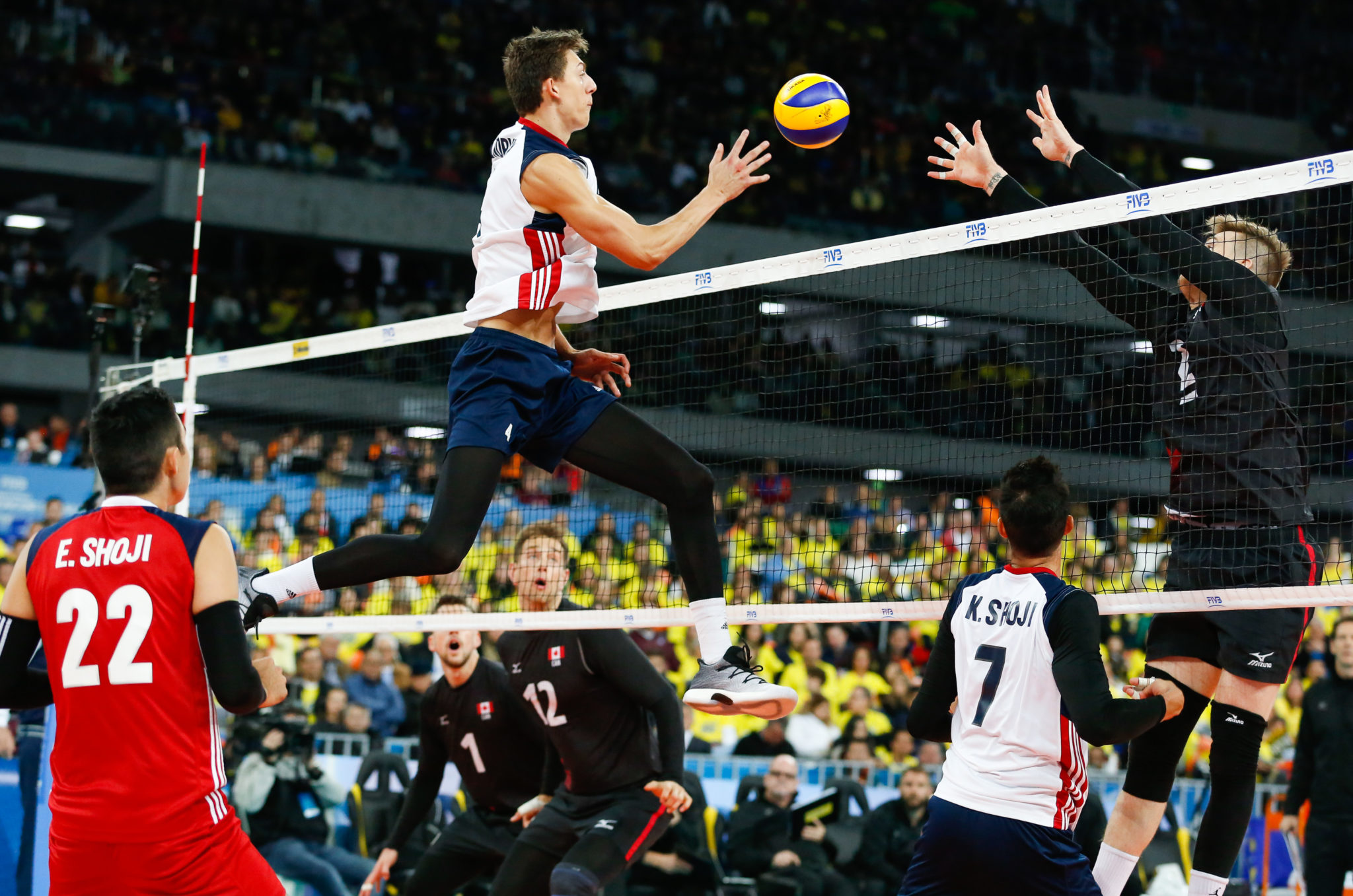 Fivb Ncaa Vote To Raise Nets For Men S Volleyball Worldwide