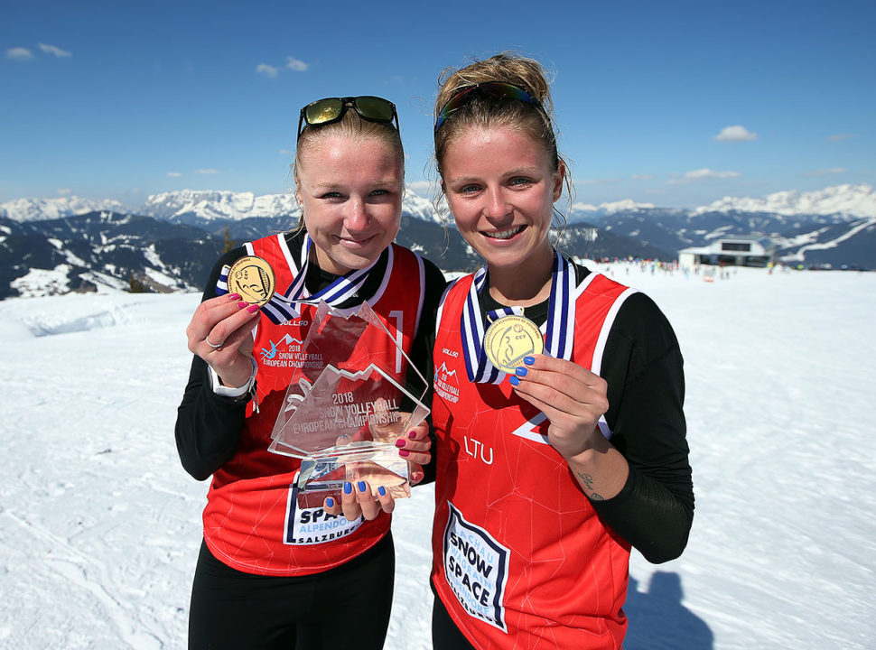 CEV Crowns Its First European Snow Volleyball Champions