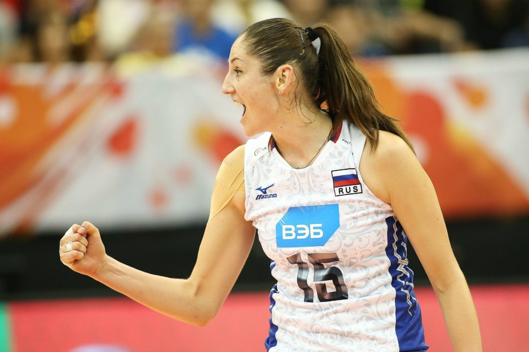 Kosheleva Enjoying Brazil's Beaches, Anxious To Play For Bernardinho