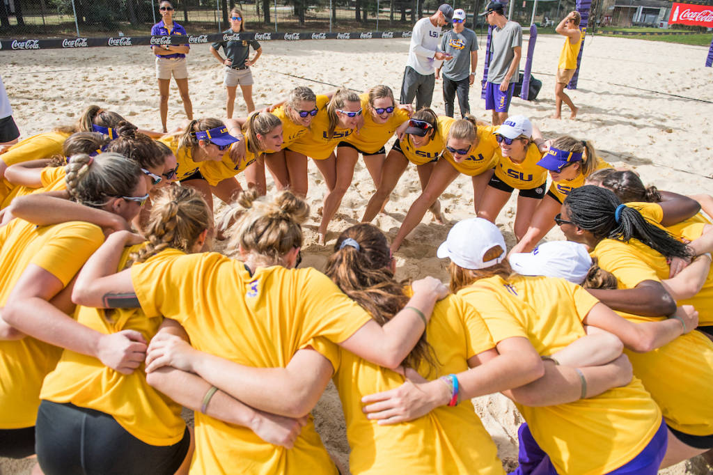 LSU Beach Volleyball Wins 12th-Straight Match