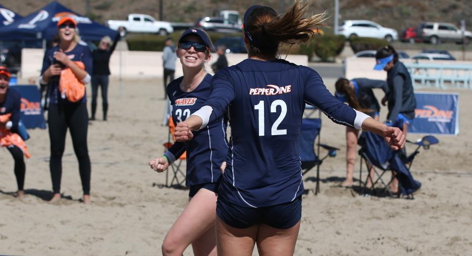 #5 Pepperdine Beats #3 UCLA, #1 USC on the Beach on Saturday