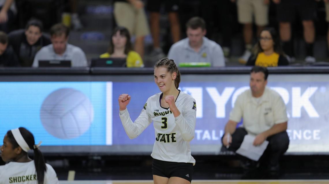 Wichita State's Raudsepp Named AAC Female Scholar-Athlete of Year