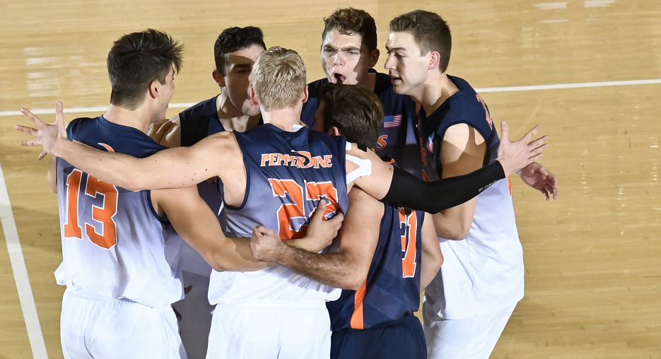 Pepperdine Bests Hawaii in Four; Penn State, NJIT Win in Sunday Sweeps