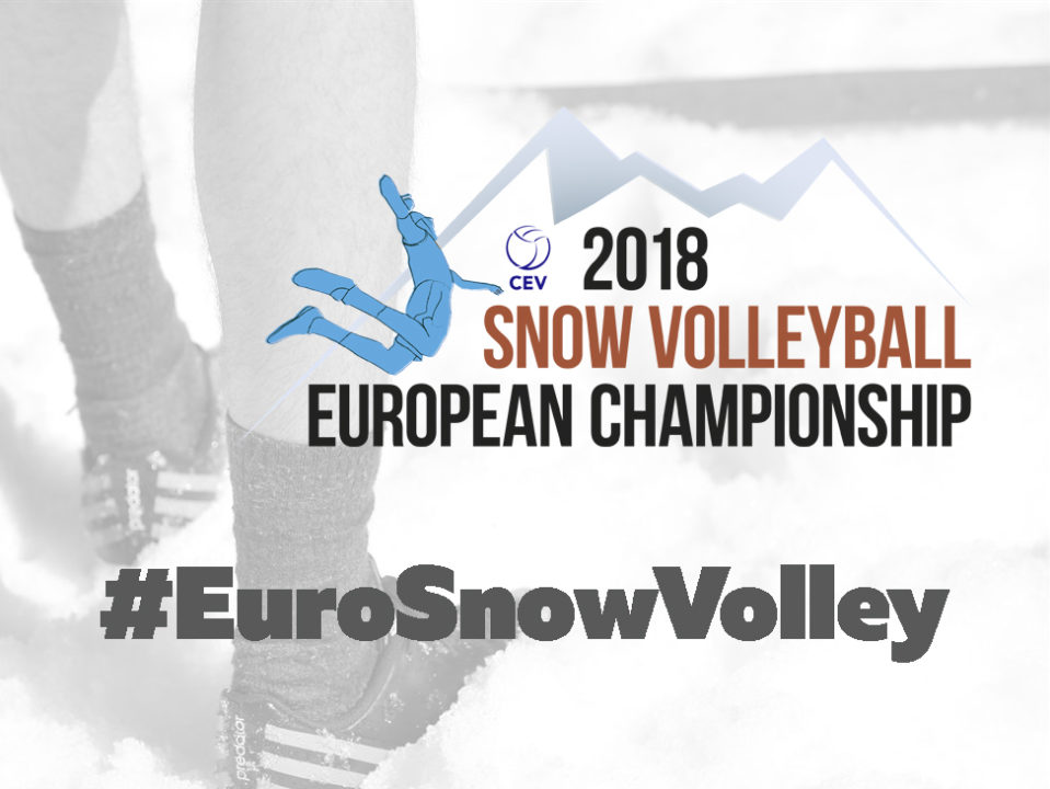 48 Players From 18 Countries Will Participate In First #EuroSnowVolley