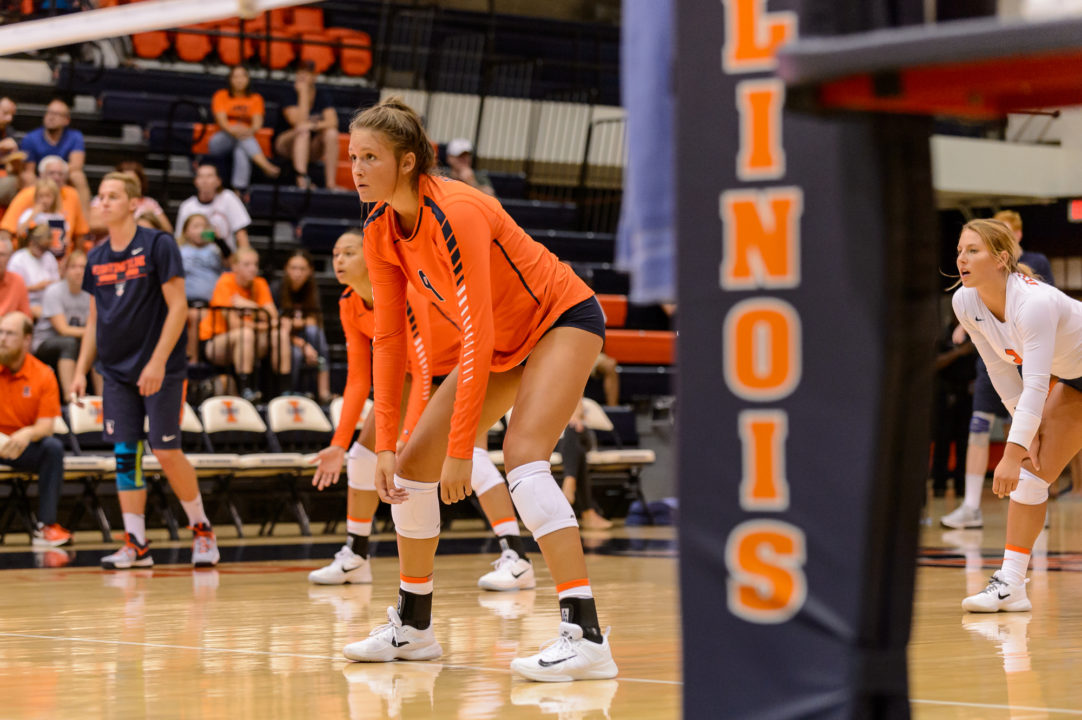 Missouri Brings on 4th Transfer for 2018 in Former Illinois MB Tyanna Omazic