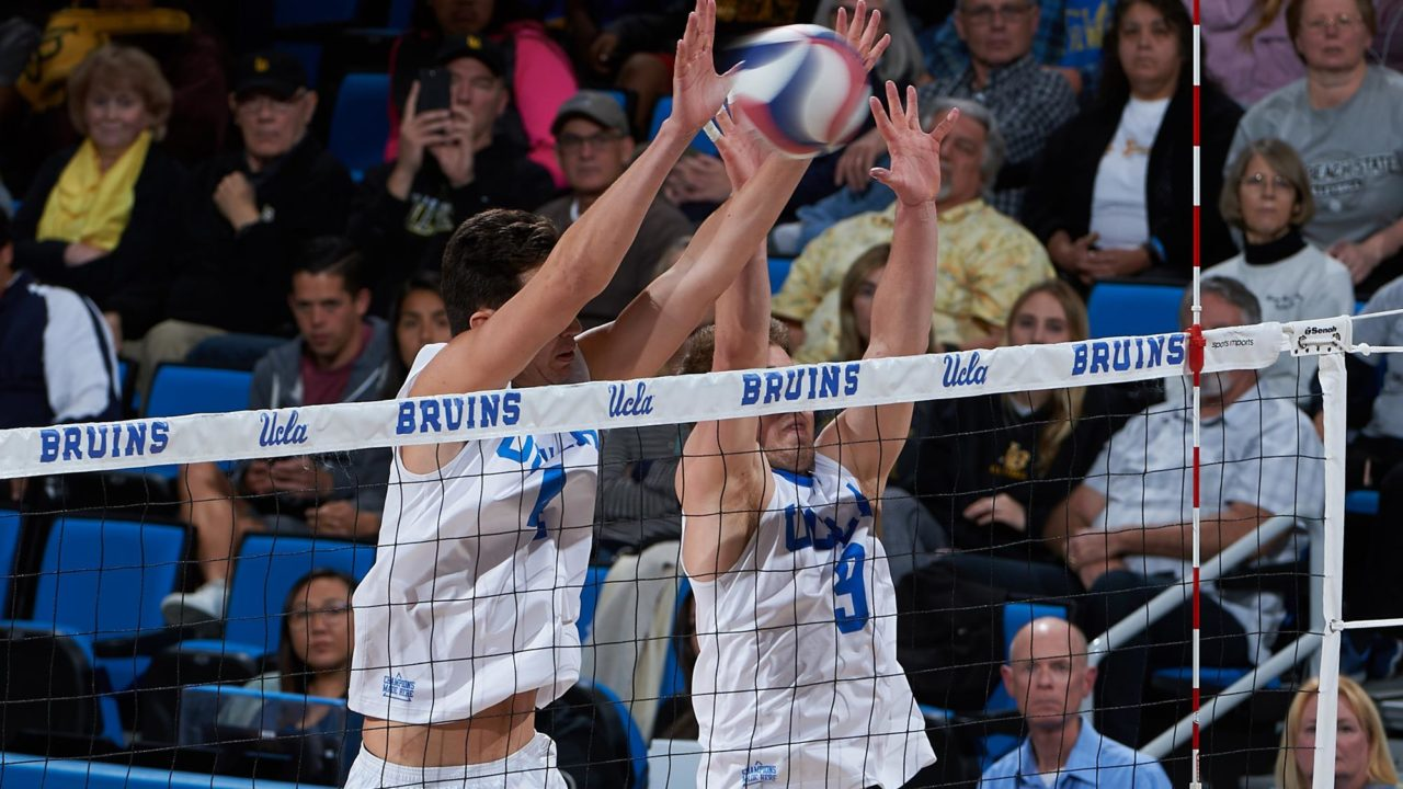 16 Blocks, Four Double-Digit Kill Efforts Lift UCLA Past GCU in Four