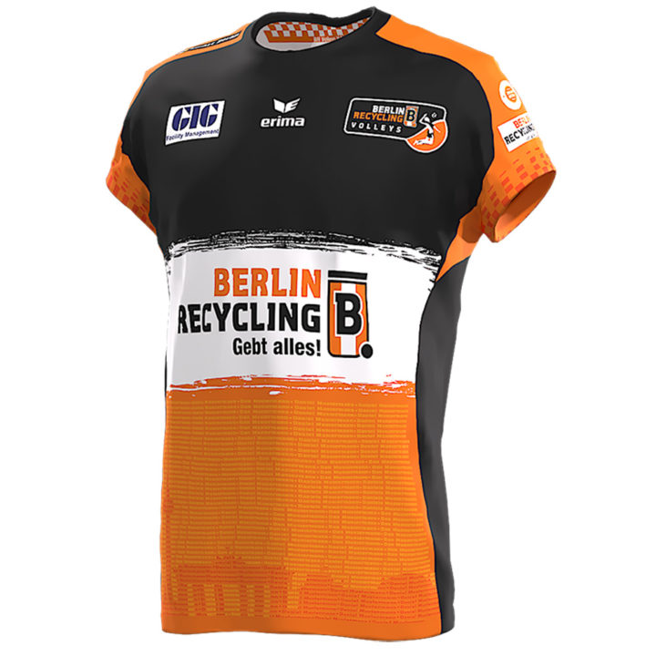 Jersey Fashion: Berlin Recycling Go 100% Recyclable