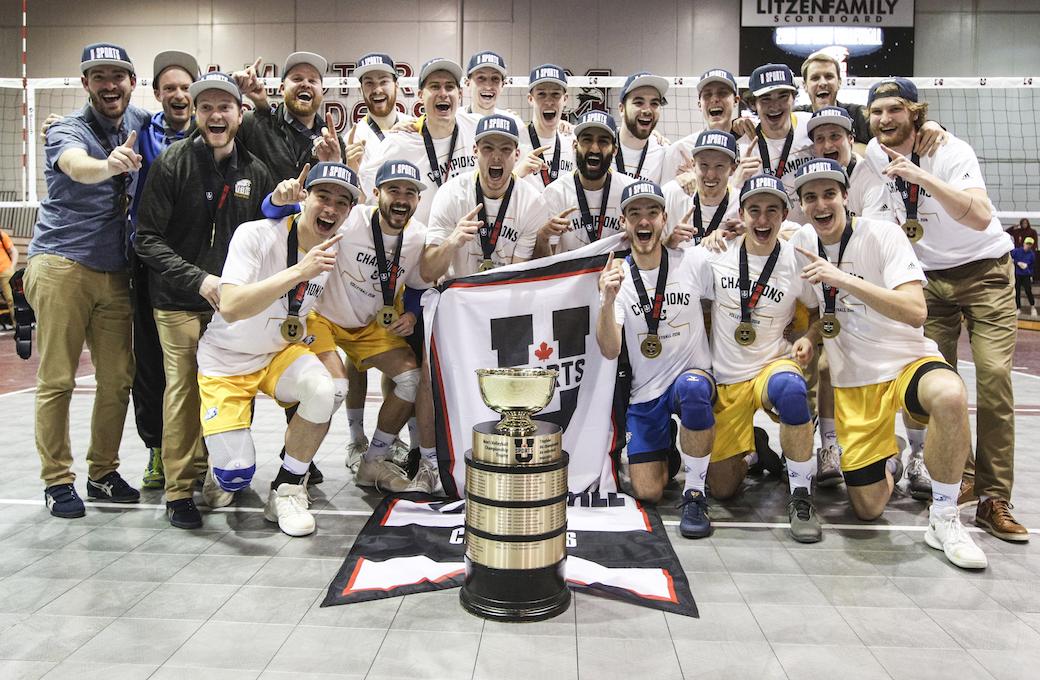 UBC Sweeps Trinity Western in U Sports Men's Volleyball Final