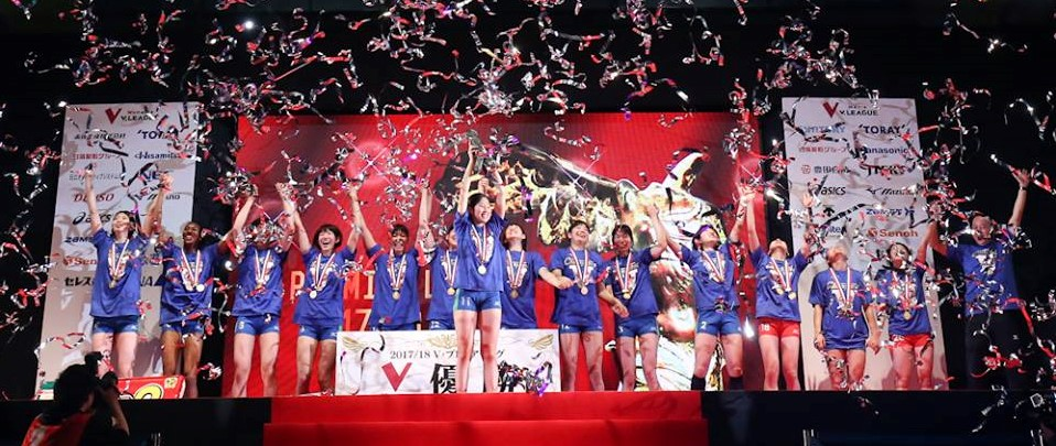 Japan Women: Hisamitsu Sweep Marvelous, Win Championship