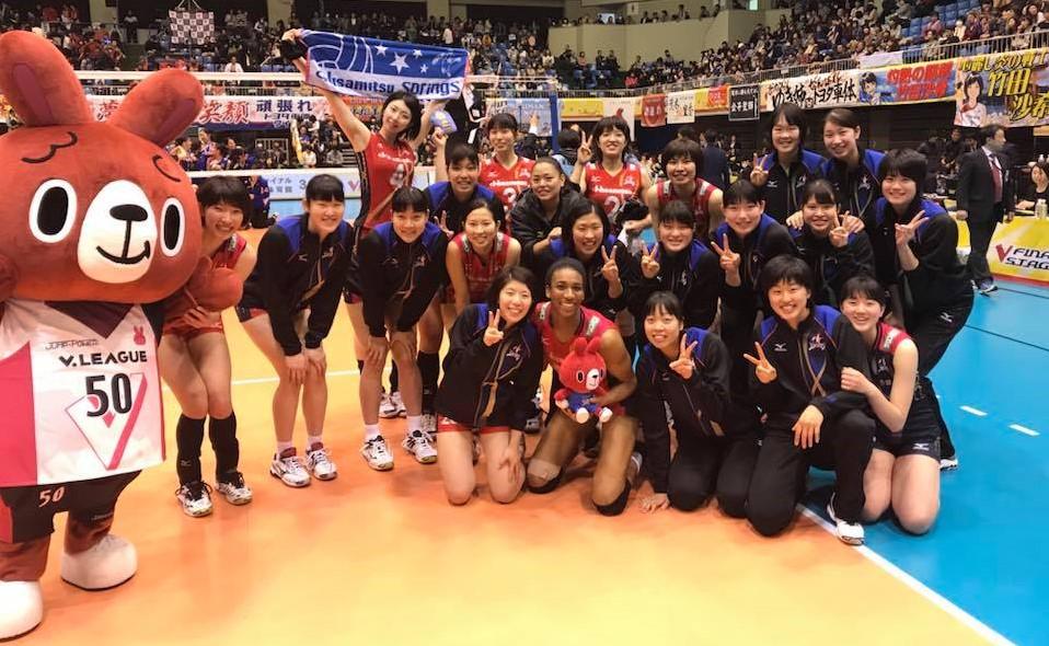 Japan W Semi: Hisamitsu Dominate, Face JT in Final