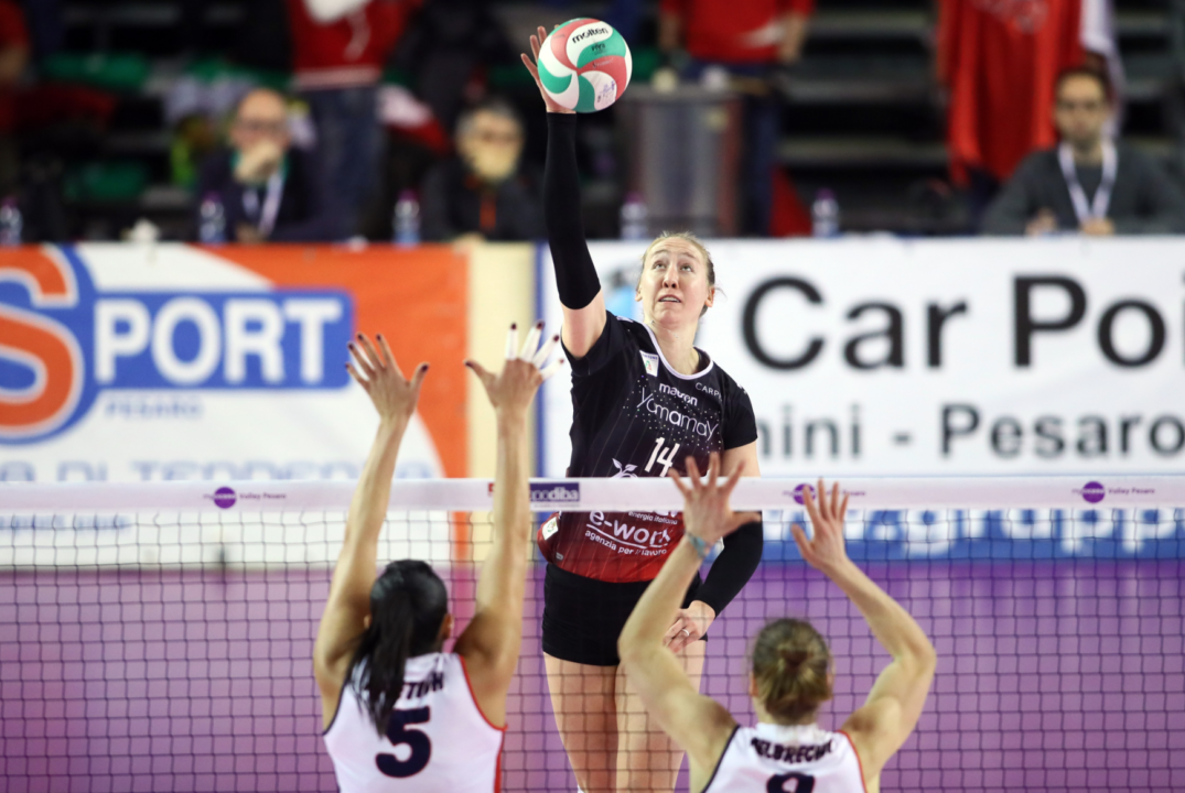 Team USA's Bartsch-Hackley Reportedly In Talks to Join Brazil's Minas