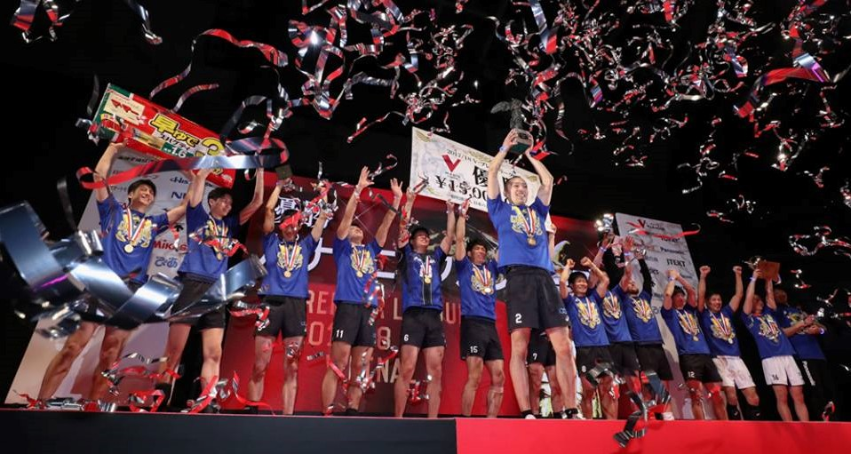 Japan Men: Panasonic win Match 2 in 5, Win Championship