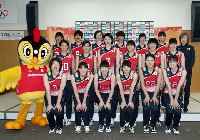 Japanese Women Announce Roster for Volleyball Nation's League