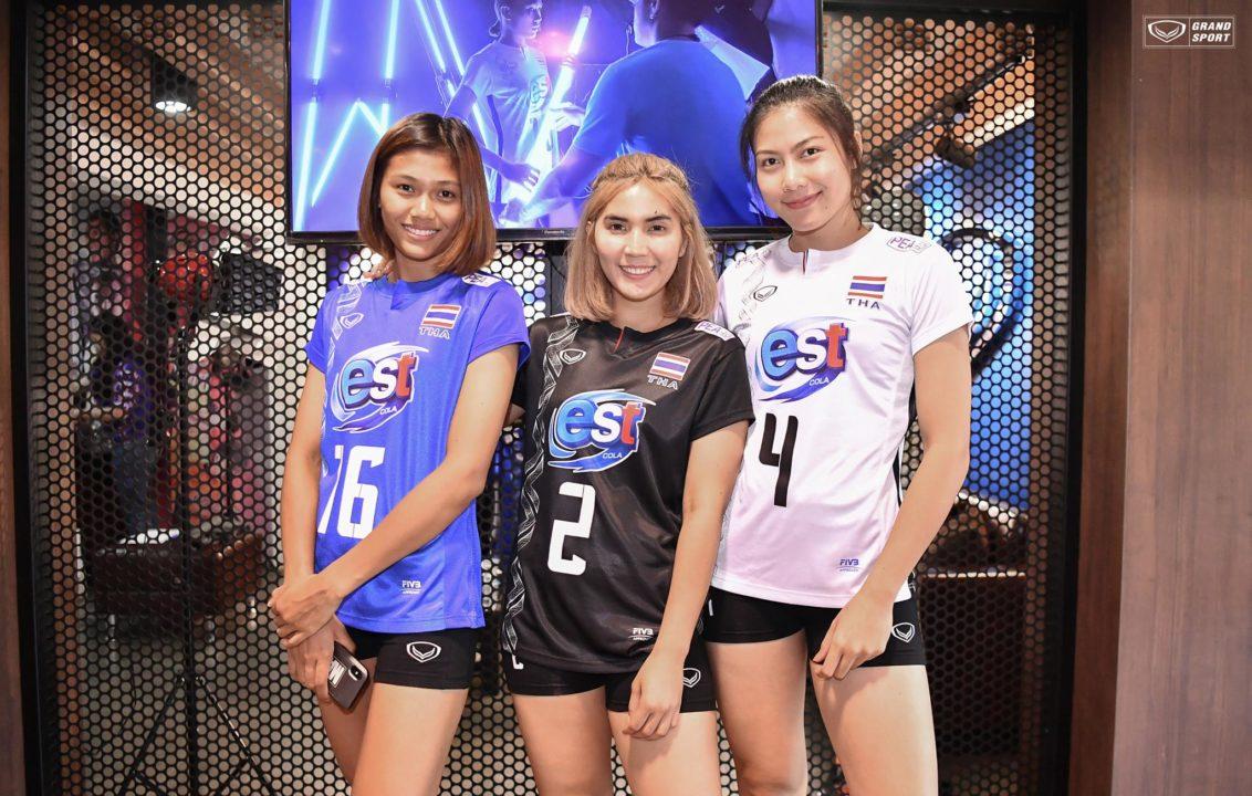 Jersey Fashion: Thailand 2018 Women