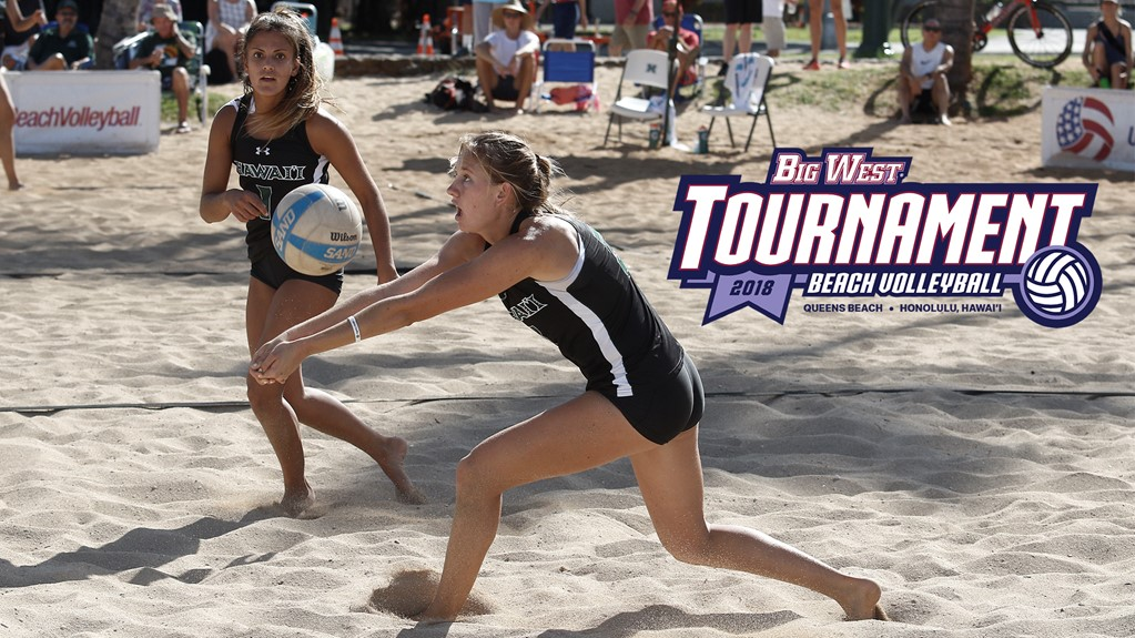 Hawaii Tabbed as #1 Seed as Big West Beach Championships Field is Set