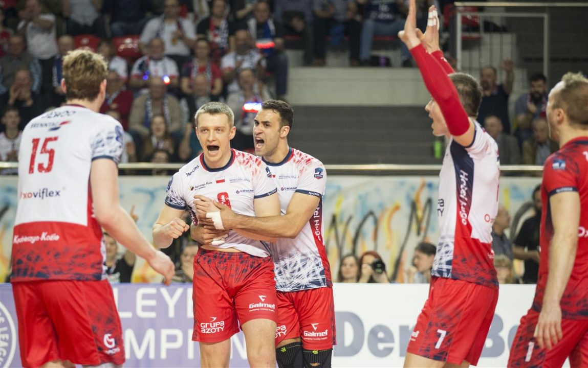 Perugia/Lube Win In Four, Zaksa Uses Five In Men's CL Playoffs 6