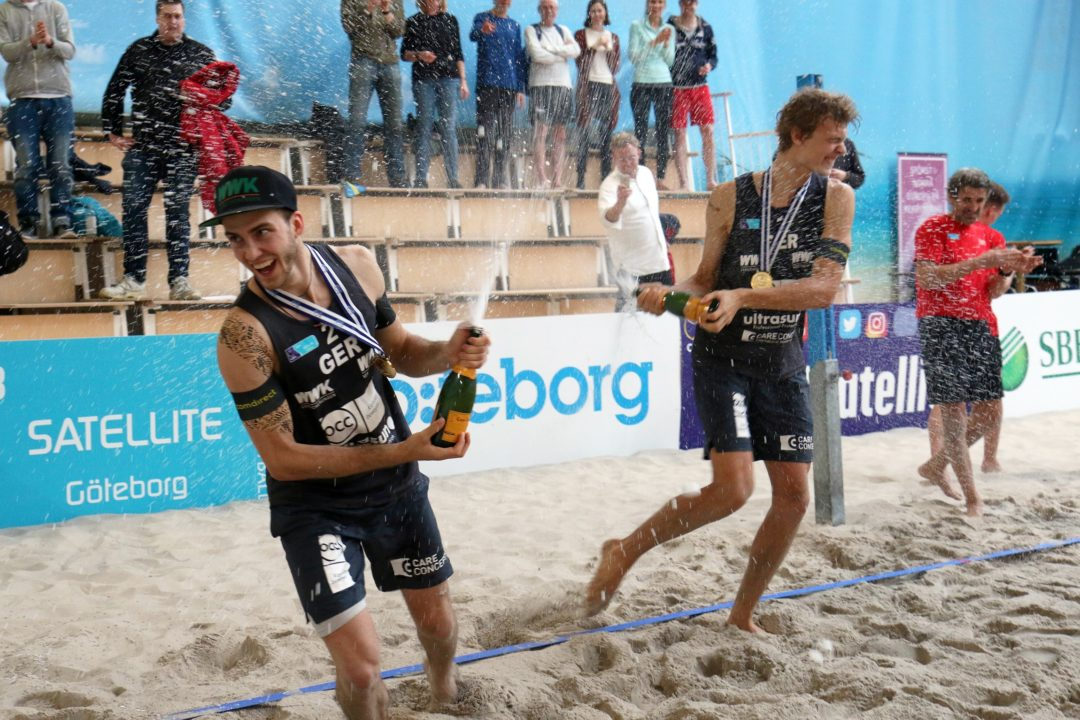 German Duo Thole/Wickle Wins Goteborg CEV Satellite Indoor Tournament