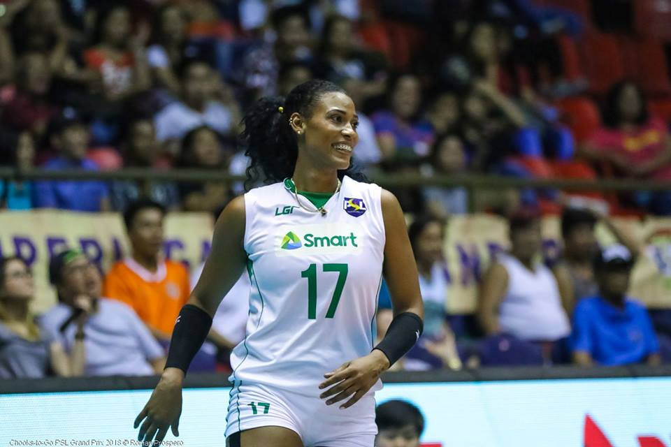 Cuban Gyselle Silva Scores 56 Points In Philippines's PSL