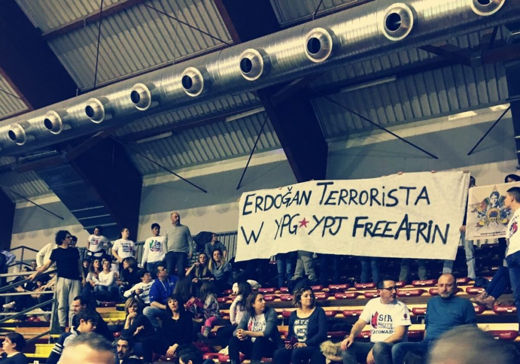 Sir Safety Perugia Fans Given One Year Ban For Political Banner