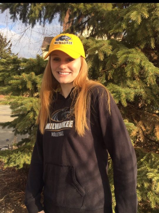 Class of 2019 Middle Blocker Anna Nerad Commits to UW Milwaukee