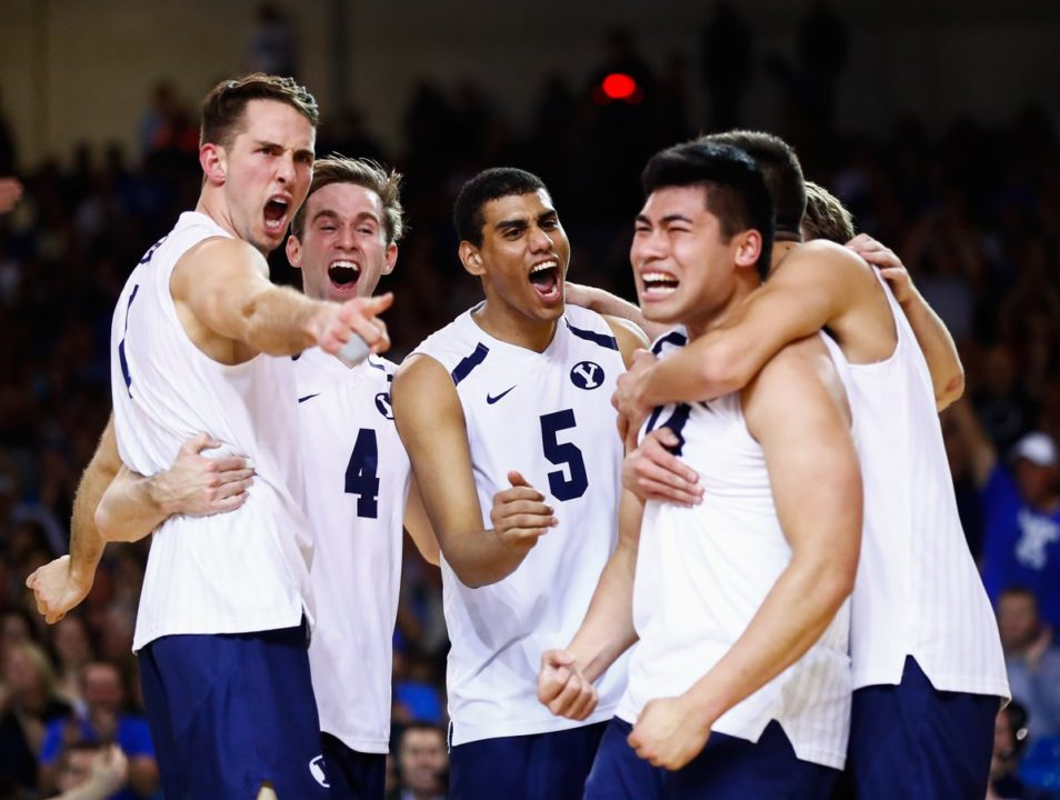 No. 2 BYU Secures MPSF Tourney Title with 4-Set Win Over No. 3 UCLA