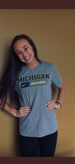 OH-Turned-Libero Brooke Humphrey Verbally Commits to Michigan