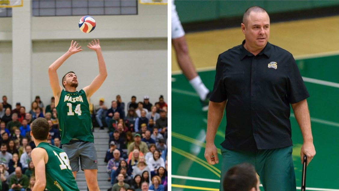 George Mason Setter Brian Negron Named 2018 EIVA Player of the Year