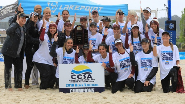 Florida State Captures Third Straight CCSA Beach Title