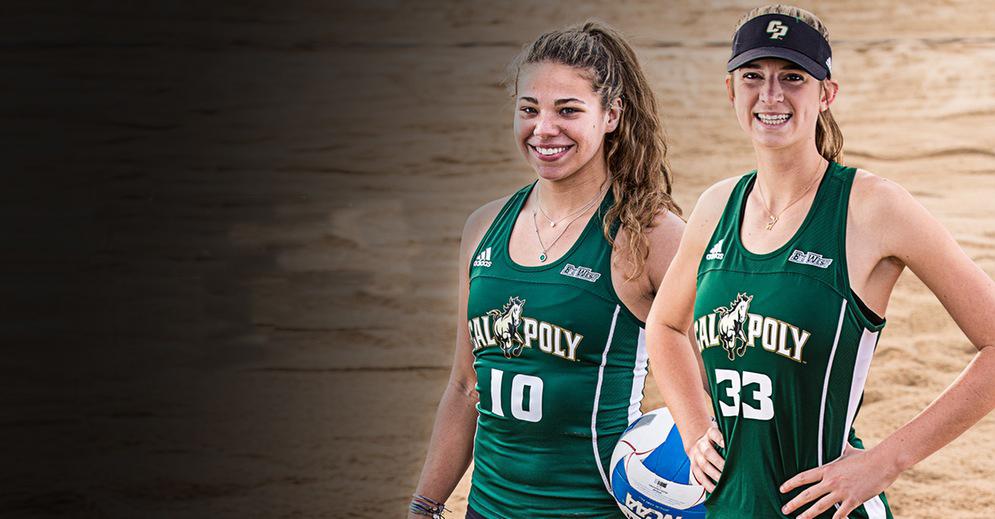 VolleyMob Beach Pair of the Week: Greisen/Gordon, Cal Poly