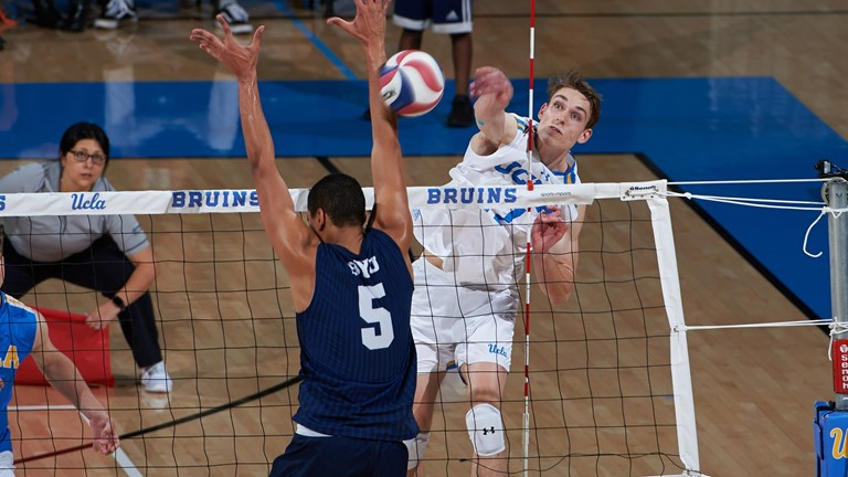 Hessenauer Downs 22 Kills as UCLA Survives 4-Set Scare from Harvard