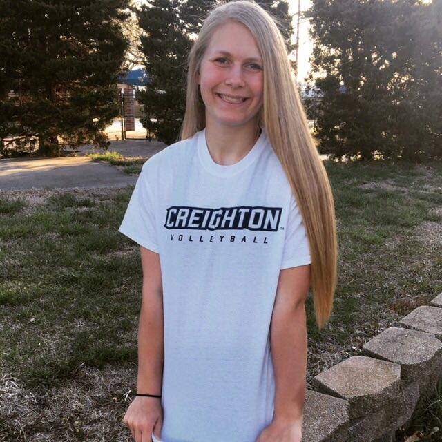 Creighton Lands Class of 2021 Setter Kendra Wait