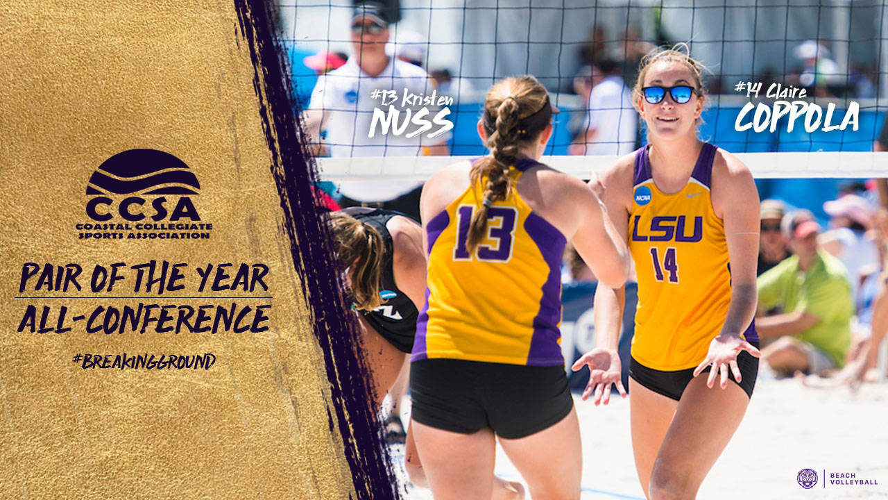 LSU's Coppola/Nuss Named CCSA Pair of the Year