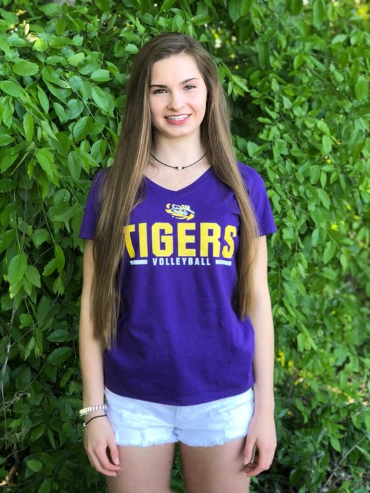 Class of 2020 OH/DS Paige Flickinger Commits to LSU for Indoor & Beach