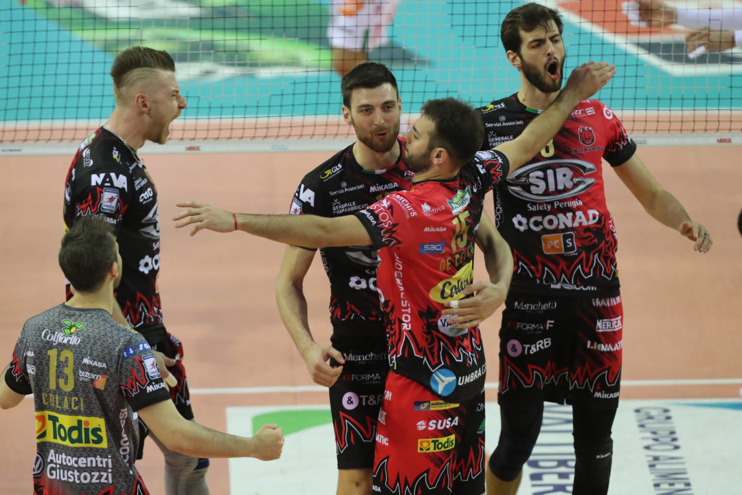Perugia Takes First Match Of Italian Superlega Finals