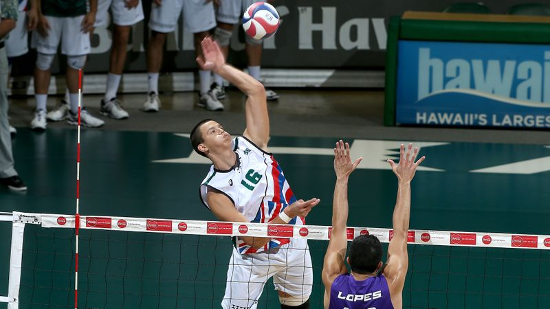 #5 Hawaii Hands #1 Long Beach Their First Loss of the Season