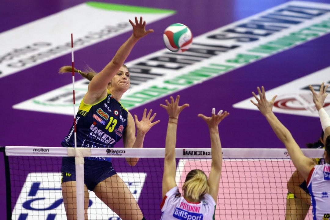 Samanta Fabris Extends Her Contract With Italian Champions Conegliano