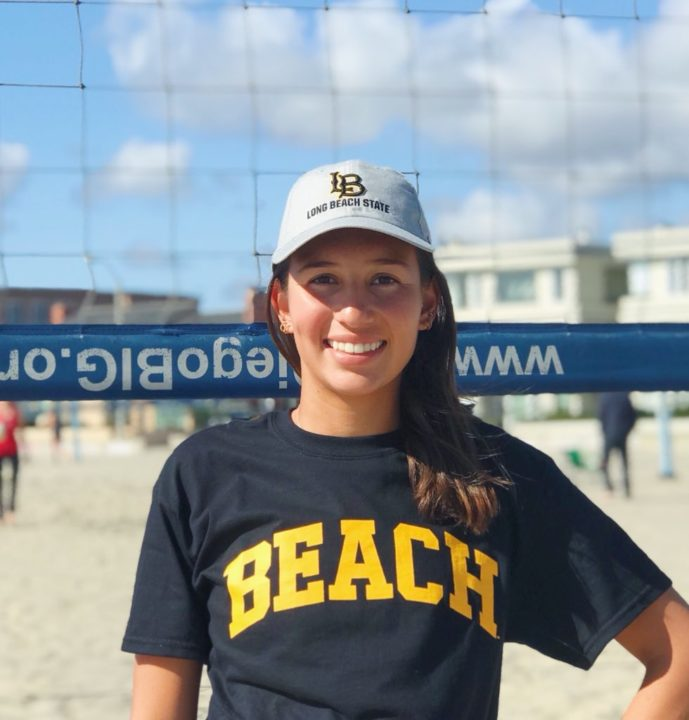 Long Beach State Lands 2019 OH/DS Savannah Lyons for Beach Volleyball