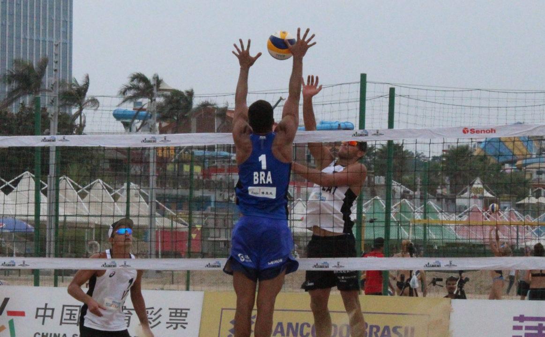 Three American Pairs, Three Brazilians Set for Xiamen Round of 16