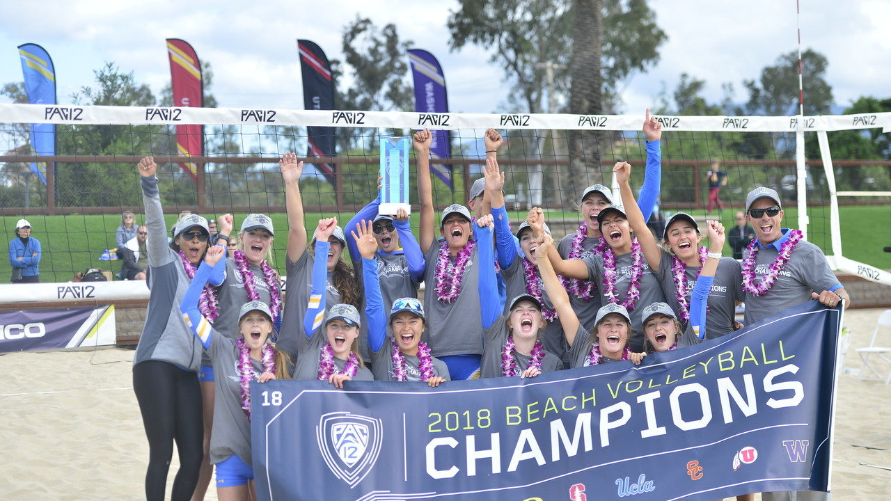UCLA Claims Pac-12 Beach Tournament Title, Zappia Earns 100th Win