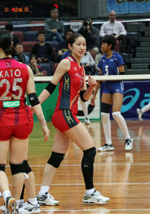 Conegliano Brings on Transfer in Japanese Star Miyu Nagaoka